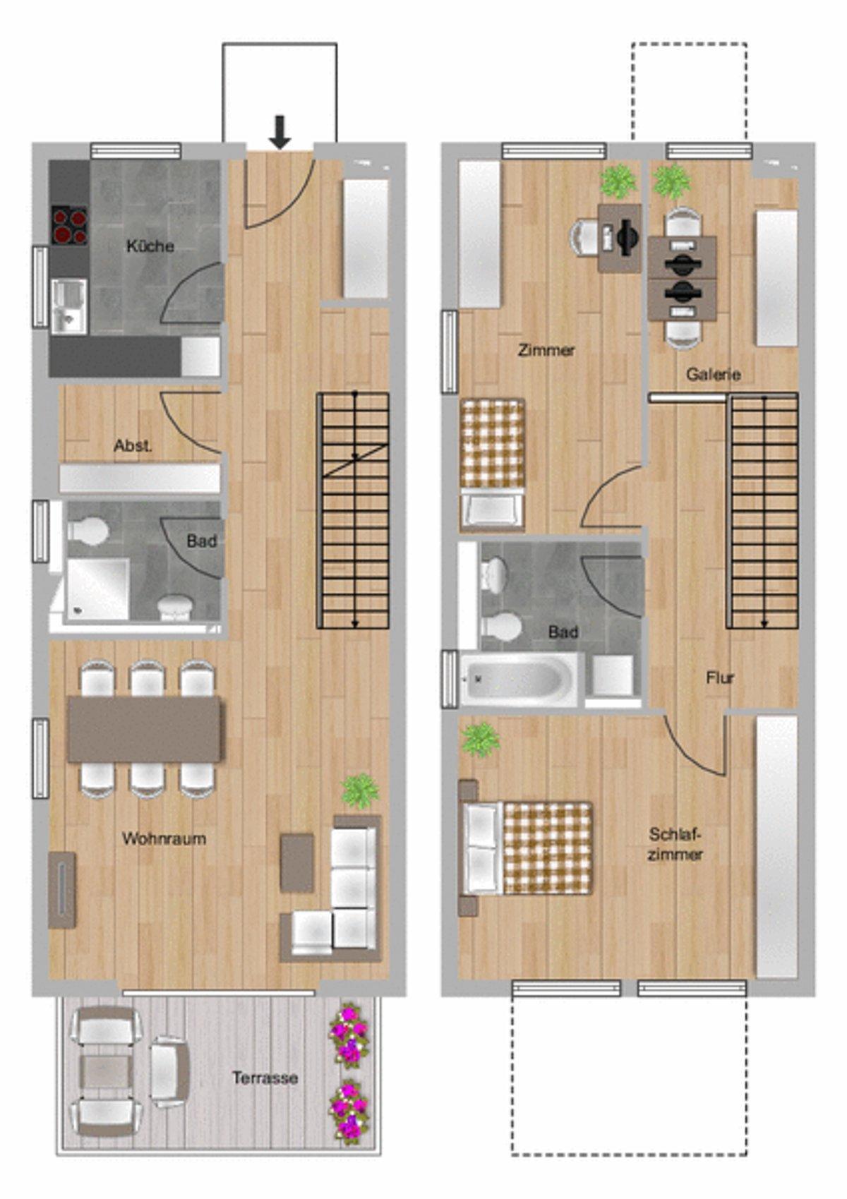 2 5 Bis 3 Zimmer Wohnung